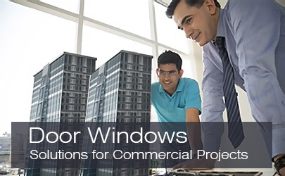 Prima Aluminum Doors Windows for Commercial Projects