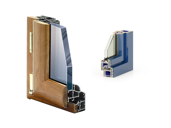 aluminium windows section